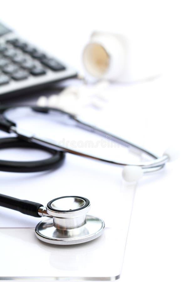 Costos médicos imagen de archivo libre de regalías