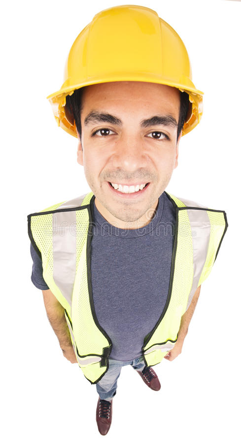 Costruction worker royalty free stock image