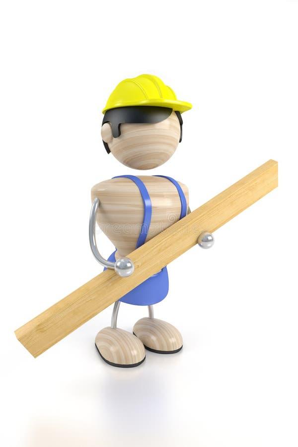 Download Costruttore illustrazione di stock. Illustrazione di employer - 3147464