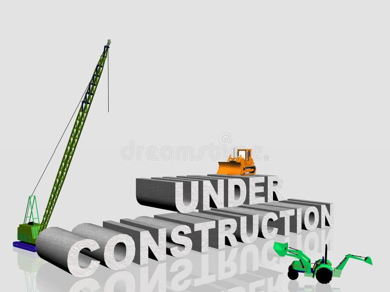 In costruzione. royalty illustrazione gratis