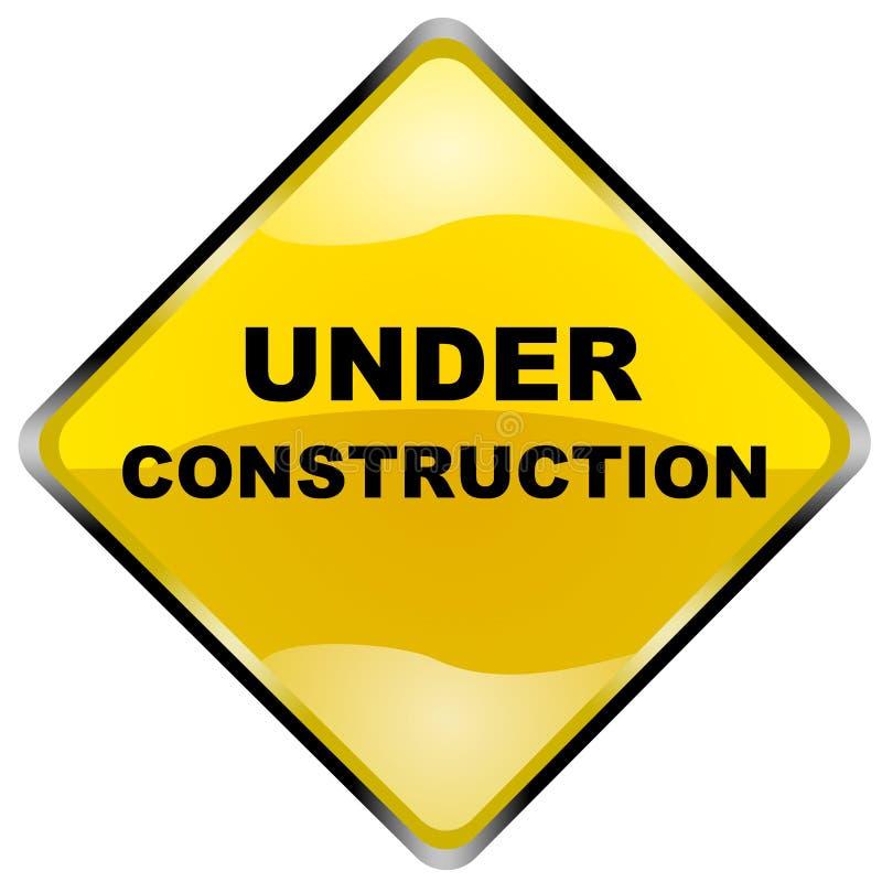 In costruzione illustrazione di stock
