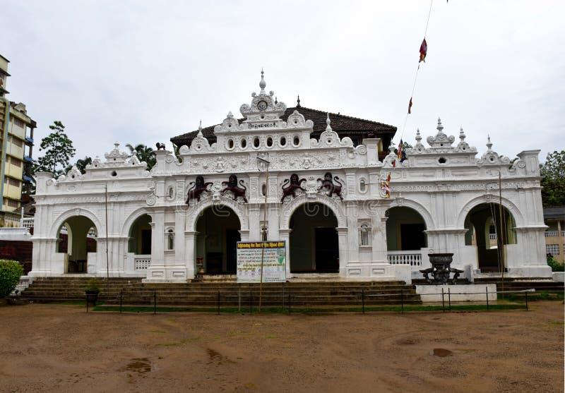 Costruzione architettonica del patrimonio mondiale in Sri Lanka fotografia stock libera da diritti