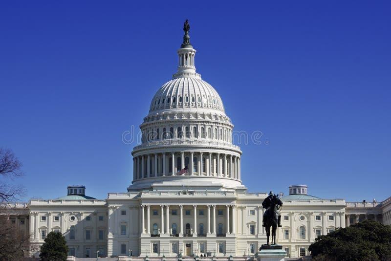Costruzione capitale degli Stati Uniti fotografie stock