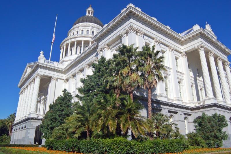 Costruzione capitale della California, vista laterale immagini stock libere da diritti