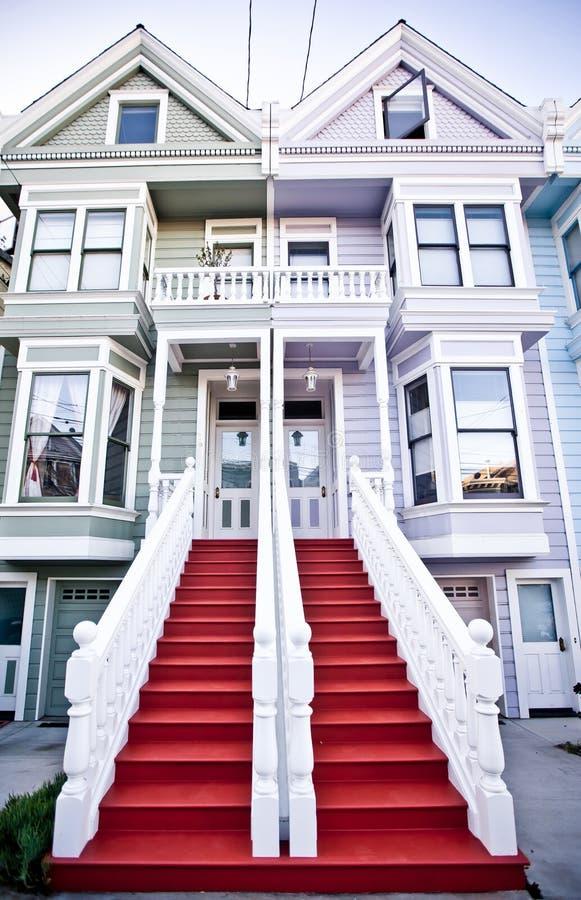 Costruzione classica a San Francisco fotografia stock libera da diritti