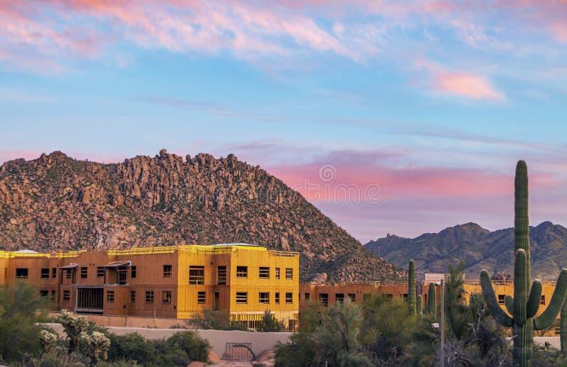 Costruzione Commerciale In Arizona, vicino a Phoenix immagine stock