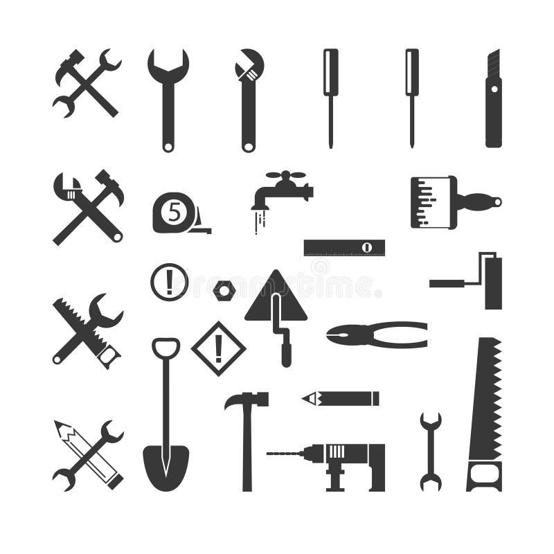 Costruzione degli strumenti illustrazione vettoriale