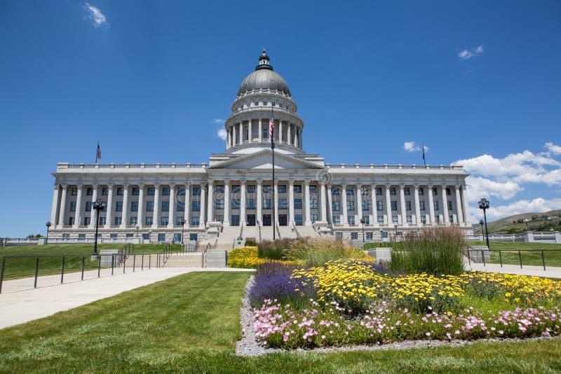 Costruzione del Campidoglio dello stato dell'Utah, Salt Lake City fotografie stock libere da diritti
