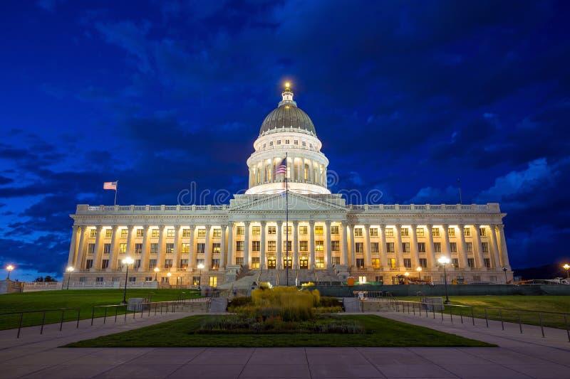 Costruzione del Campidoglio dello stato dell'Utah, Salt Lake City immagine stock