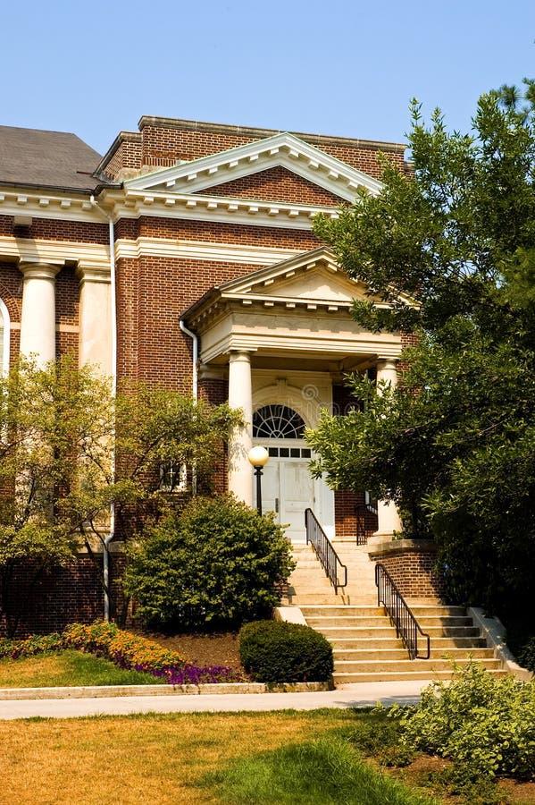Costruzione del campus universitario immagine stock libera da diritti