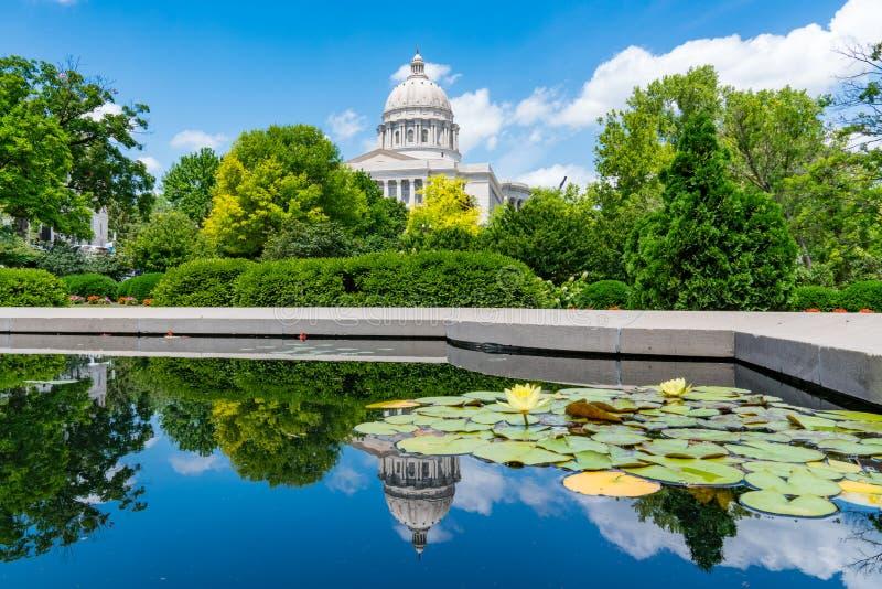 Costruzione del capitale dello Stato del Missouri fotografia stock