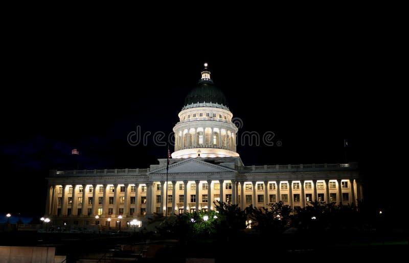 Costruzione del capitol dello stato dell'Utah a Salt Lake City fotografie stock libere da diritti