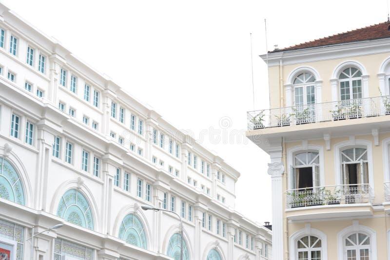 Costruzione del centro di Vincom, Ho Chi Minh City, Vietnam immagini stock