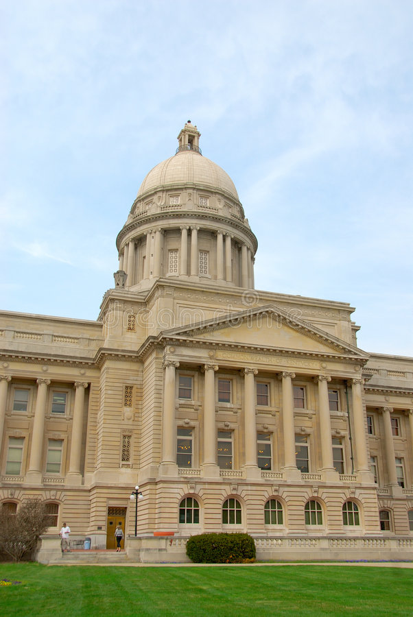 Costruzione del Kentucky Campidoglio immagini stock libere da diritti