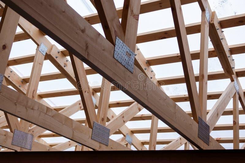 Costruzione del legno fotografie stock libere da diritti