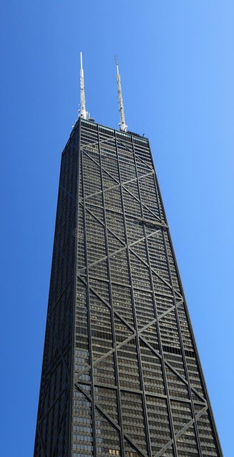 Costruzione del limite in Chicago immagini stock