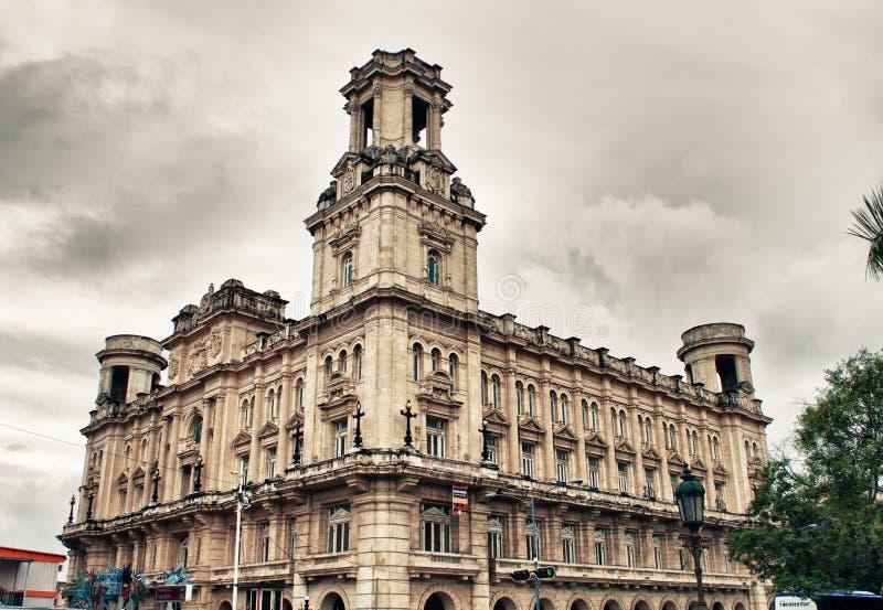 Costruzione del museo nazionale delle belle arti a Avana, Cuba fotografie stock