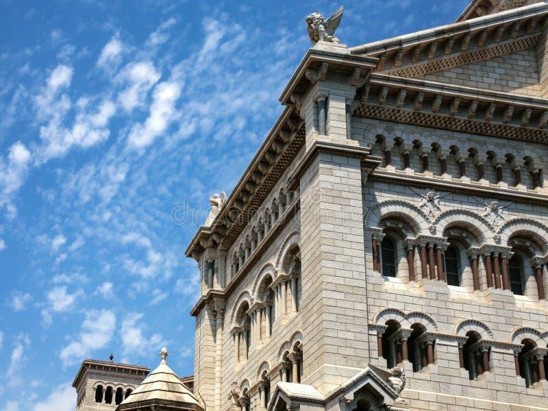 costruzione del san Nicholas Cathedral nel Monaco fotografia stock libera da diritti