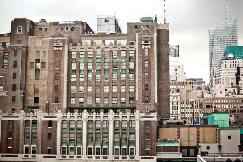 Costruzione dell'appartamento di New York City fotografia stock