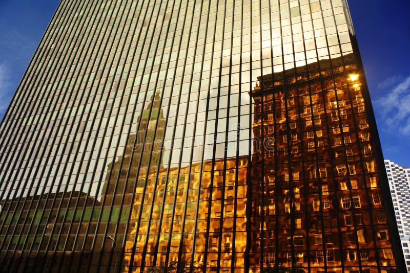 Costruzione dell'oro, Hartford, CT immagini stock libere da diritti