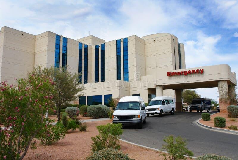 Costruzione dell'ospedale di emergenza fotografia stock libera da diritti