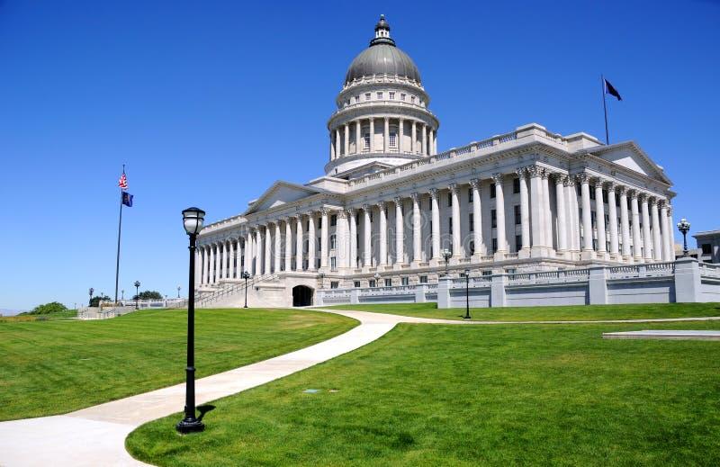 Costruzione dell'Utah Campidoglio immagine stock