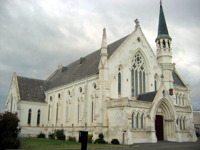 Costruzione della cattedrale della chiesa immagine stock libera da diritti