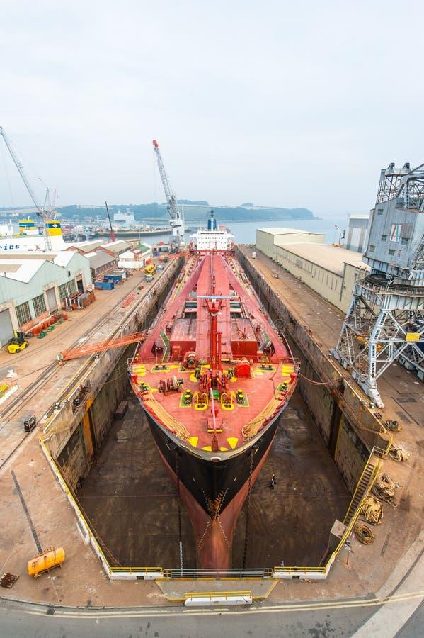 Costruzione della nave immagini stock libere da diritti