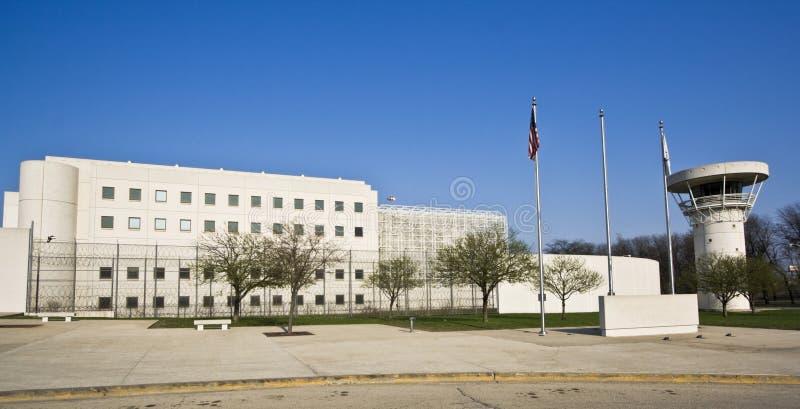 Costruzione della prigione immagini stock libere da diritti