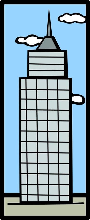 Costruzione della torretta royalty illustrazione gratis