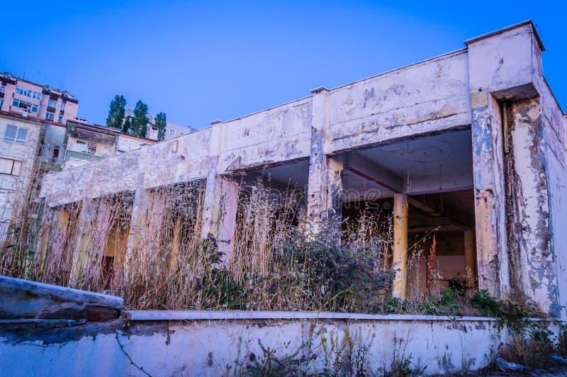 Costruzione desolata fotografie stock libere da diritti