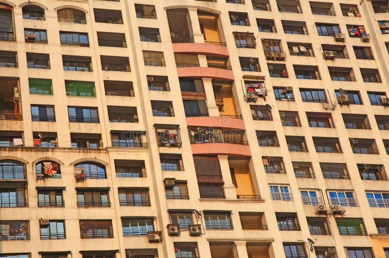 Costruzione di appartamento alta in Mumbai fotografia stock