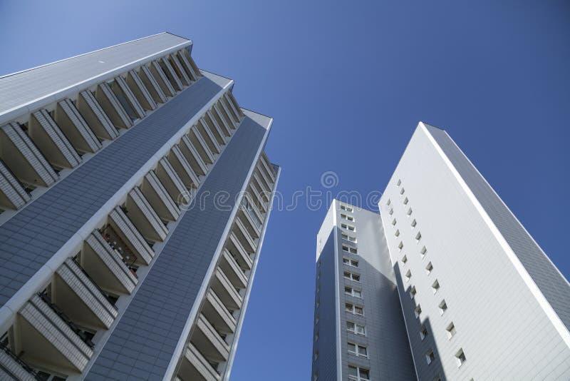 Costruzione di appartamento in Berlin Marzahn immagini stock
