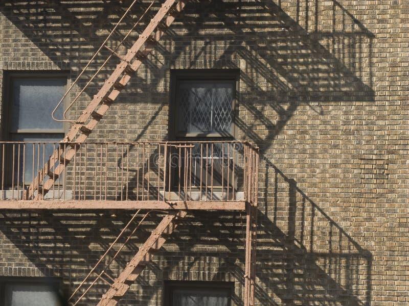 Costruzione di appartamento degli S.U.A. New York City immagini stock libere da diritti