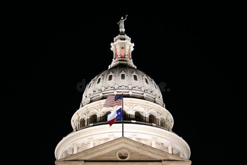 Costruzione di Campidoglio della condizione del Texas immagini stock libere da diritti