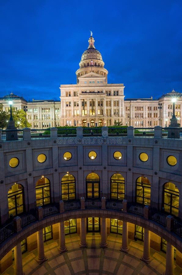 Costruzione di Campidoglio della condizione del Texas fotografie stock libere da diritti
