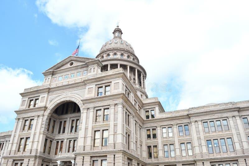 Costruzione di Campidoglio della condizione del Texas fotografia stock