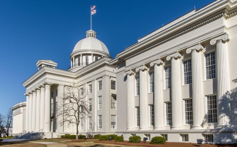 Costruzione di Campidoglio della condizione dell'Alabama immagini stock