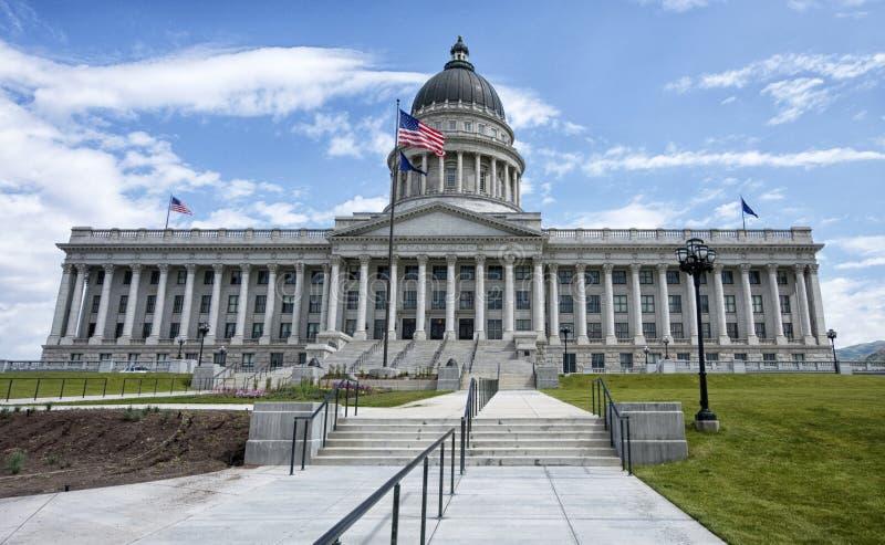 Costruzione di Campidoglio della condizione dell'Utah immagine stock libera da diritti