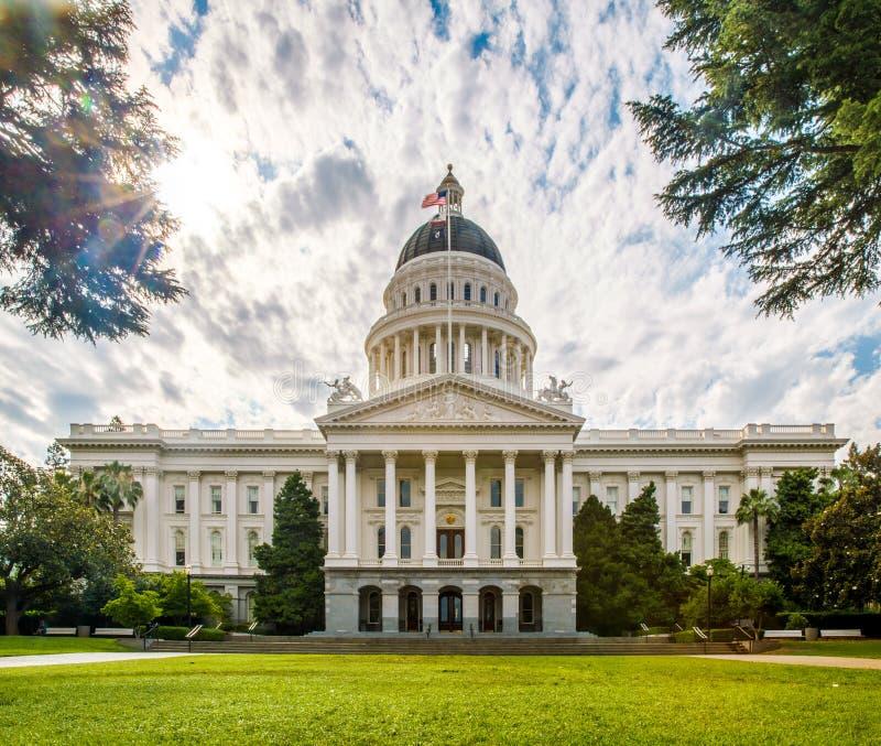 Costruzione di Campidoglio della condizione della California immagini stock
