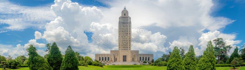 Costruzione di Campidoglio della condizione della Luisiana immagine stock