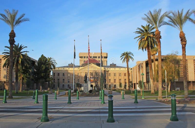 Costruzione di Campidoglio - Phoenix, Arizona immagini stock libere da diritti