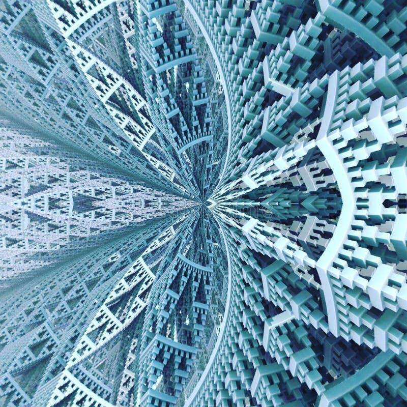 Costruzione di chiesa di cieli geometrica immagini stock