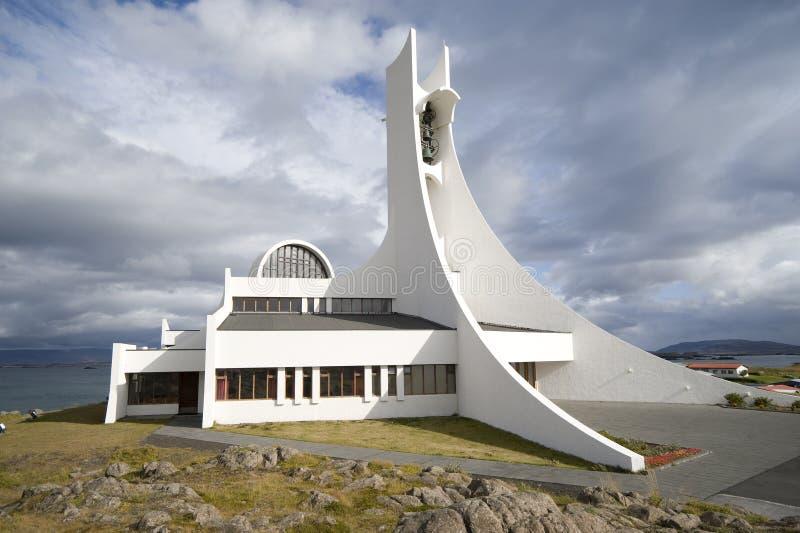 Costruzione di chiesa contemporanea immagine stock for Design architettonico gratuito