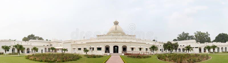 Costruzione di edificio principale di IIT Roorkee iniziato nel 1852 fotografia stock libera da diritti