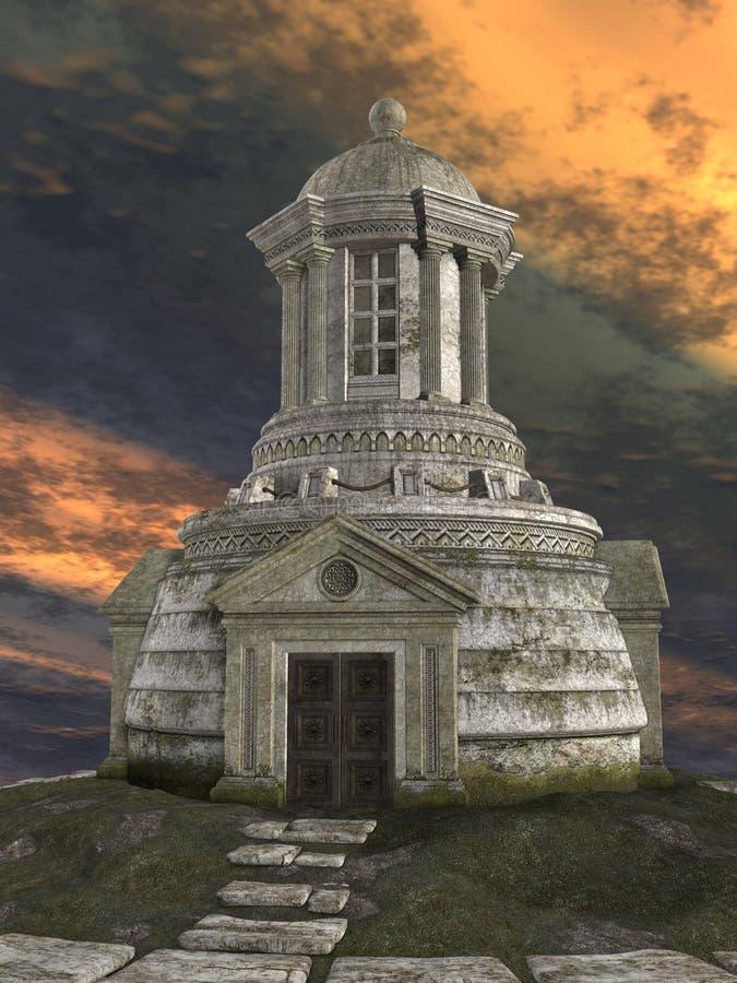 costruzione di fantasia 3D illustrazione vettoriale