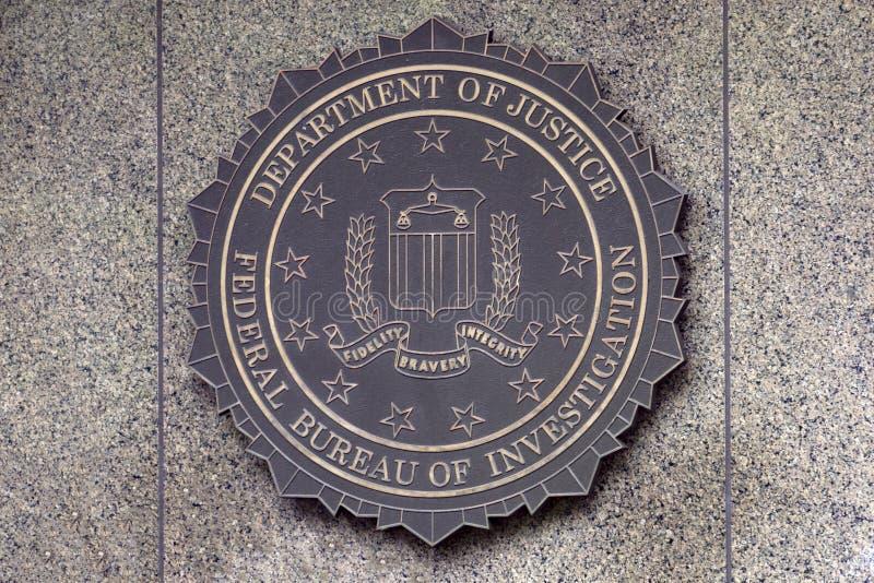 Costruzione di FBI di Edgar Hoover fotografia stock libera da diritti
