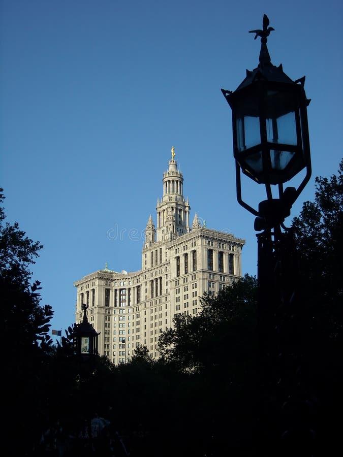 Costruzione di gestione, NYC. fotografia stock