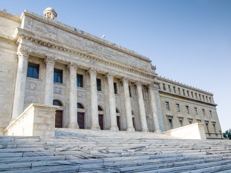 Costruzione di governo, Porto Rico fotografia stock libera da diritti