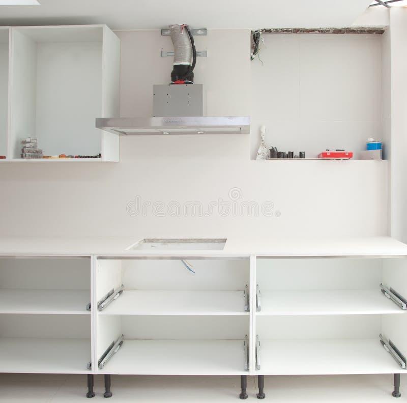 Costruzione di interior design di una cucina immagine - Costruzione cucina ...